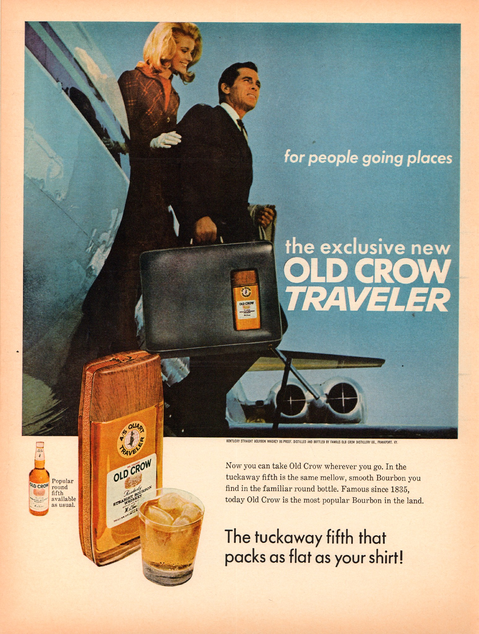 Old Crow Whiskey Ad