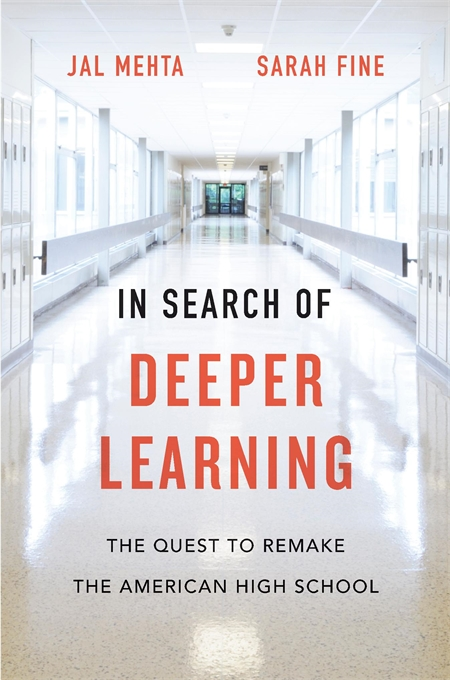 In Search of Deeper Learning Book Cover